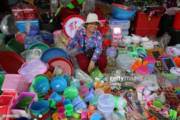 Market near Battambang Cambodia