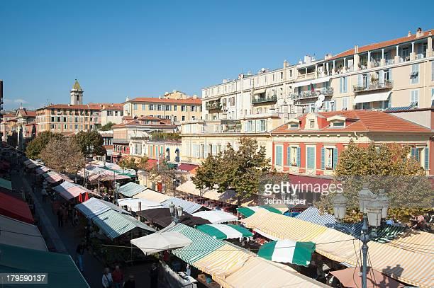 Market, Nice, Cote d'Azur, France