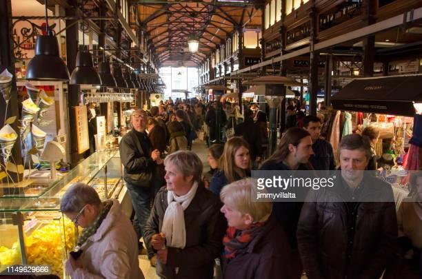 market of san miguel - mercado de san miguel - bebida stock pictures, royalty-free photos & images