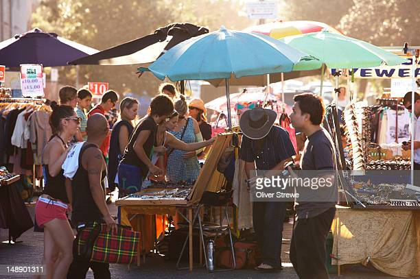 Market on Campbell Parade, Bondi.