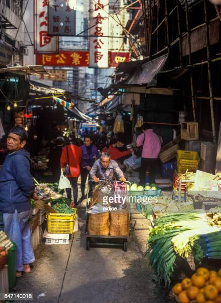 Market on Temple Street  in Hong Kong, China