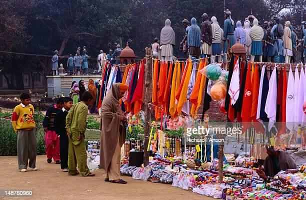 Market outside the Madiyana Sikh Temple