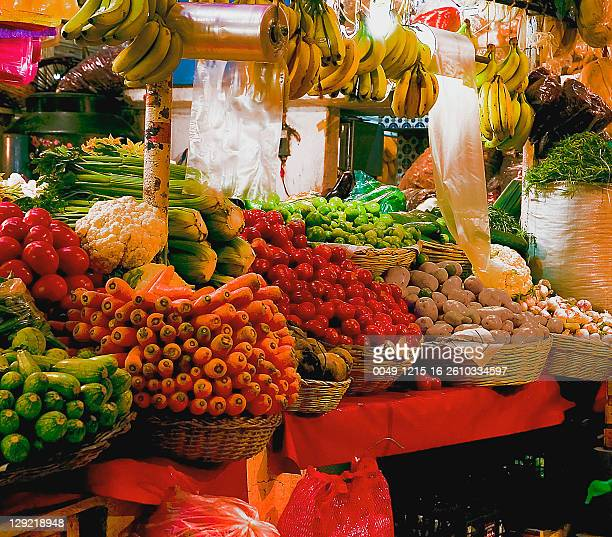 market - cuernavaca stock photos and pictures