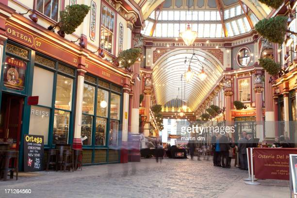 market - leadenhall market stock photos and pictures