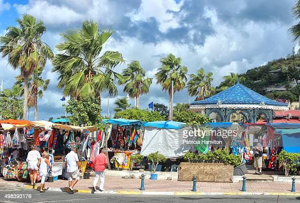 Market place at St Maarten