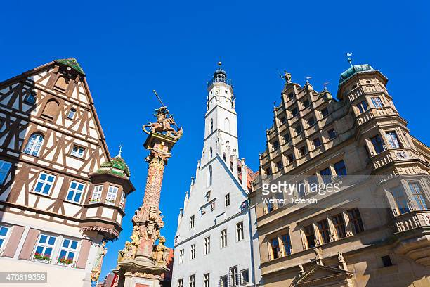 Market place in Rothenburg
