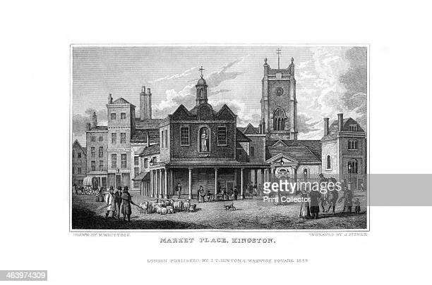 Market Place Kingston Surrey 1829