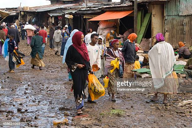Market Scene in Addis Abeba