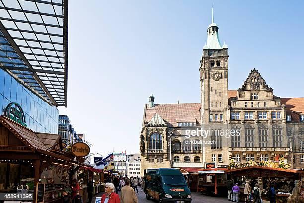 Markt Landschaft in Chemnitz