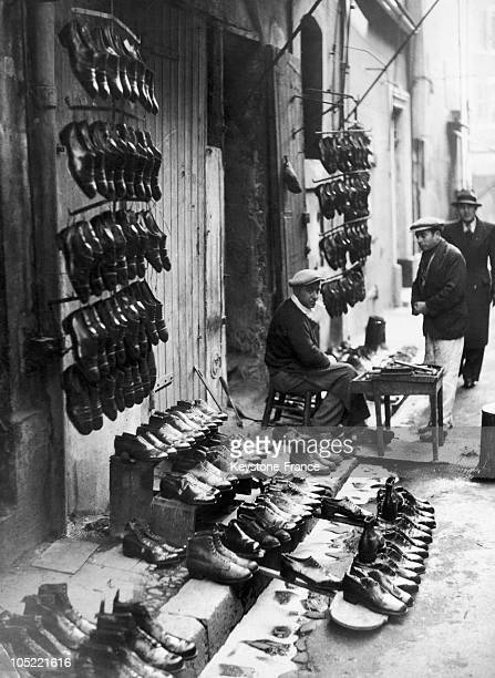Market Shoes To Marseille 1930