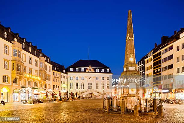 Market Square and Historic Town Hall (dusk)