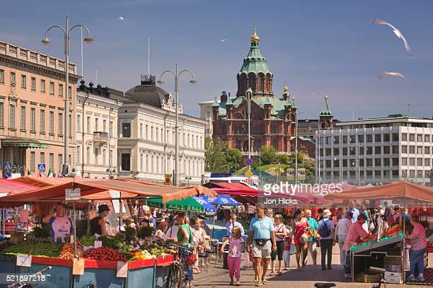 Market Square and Uspenski Orthodox Cathedral