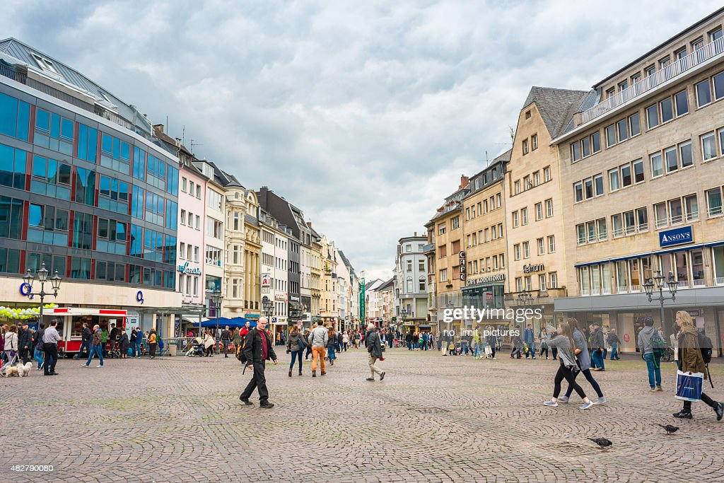 market square at Bonn : Stock Photo