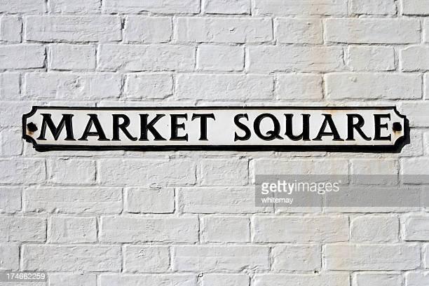 Market Square sign