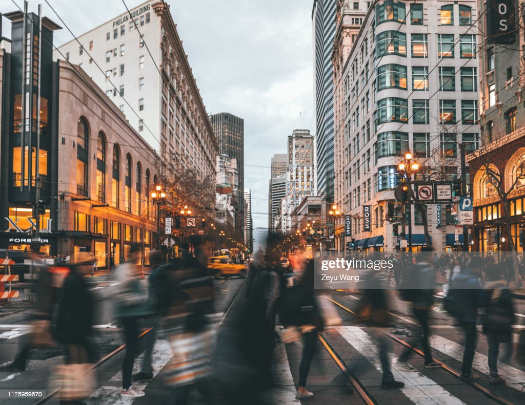 Market St San Francisco High-Res Stock Photo - Getty Images