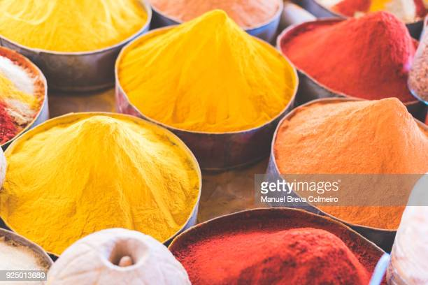 Market stall in Morocco