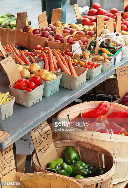 Market Stall Vegetables
