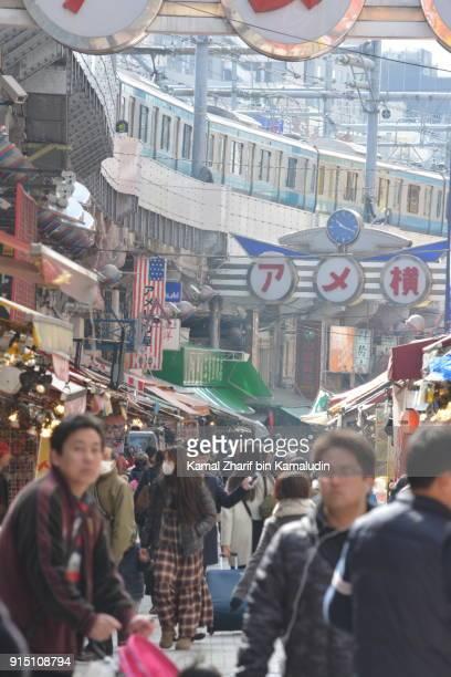 Market street at Ueno