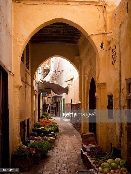 Passerelle du marché dans la médina, Rabat, Maroc