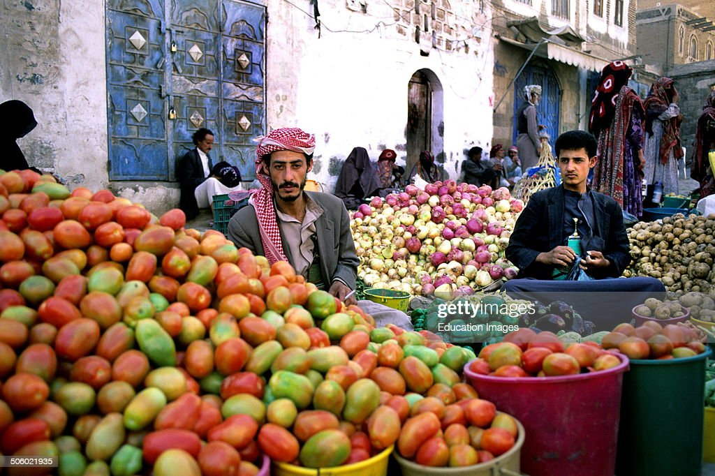 Market. Yemen. Arabian Peninsula : News Photo