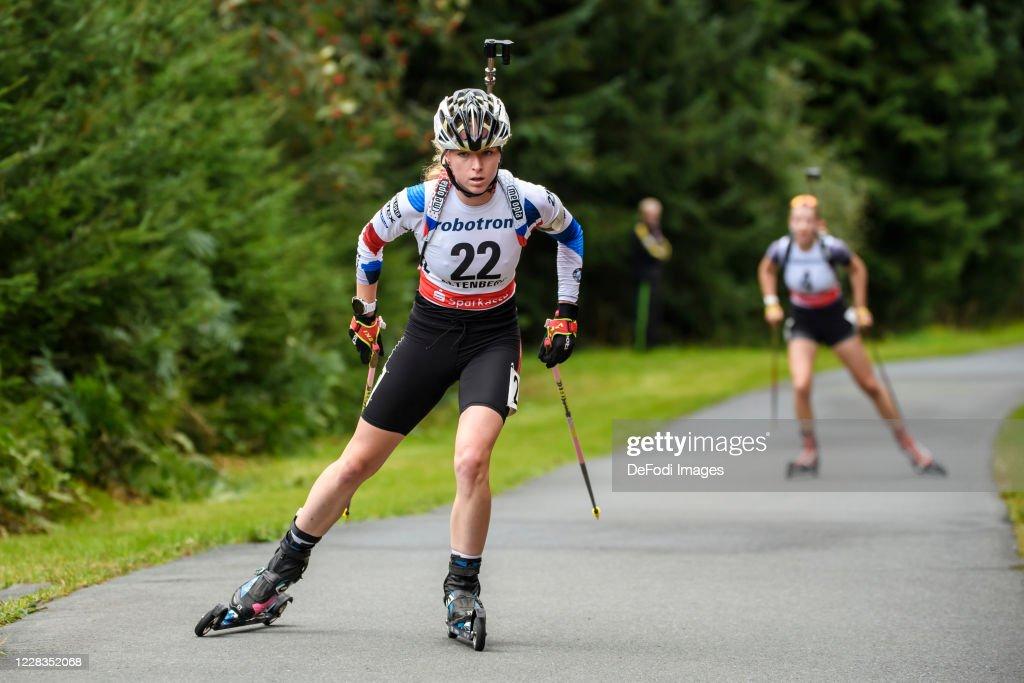 German Biathlon Championship 2020 - Women 12.5 km Single : News Photo