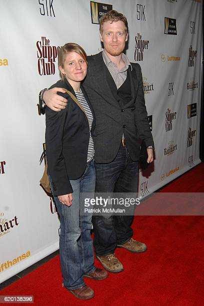 Marketa Irglova and Glen Hansard attend LIVESTYLE Entertainment presents FOX SEARCHLIGHT Pictures Pre Oscar Party at STK on February 22 2008