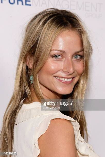 Marketa Janska attends Los Angeles Confidential magazine's annual pre-Emmy party, hosted by Heidi Klum and Niche Media CEO Jason Binn, held at a...