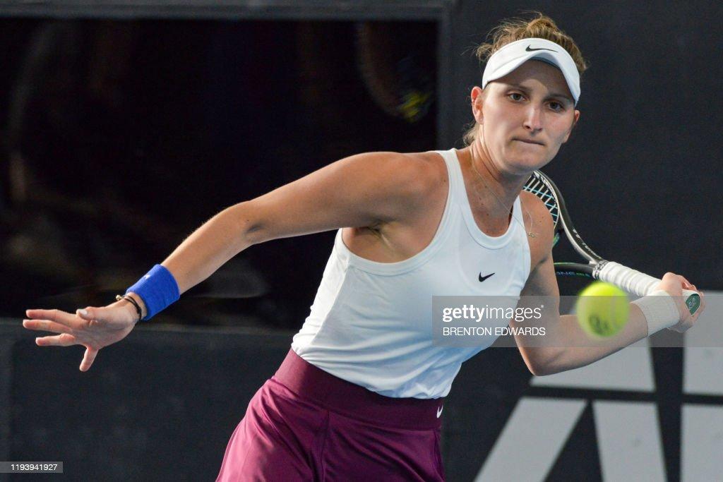 TENNIS-AUS-WTA : News Photo