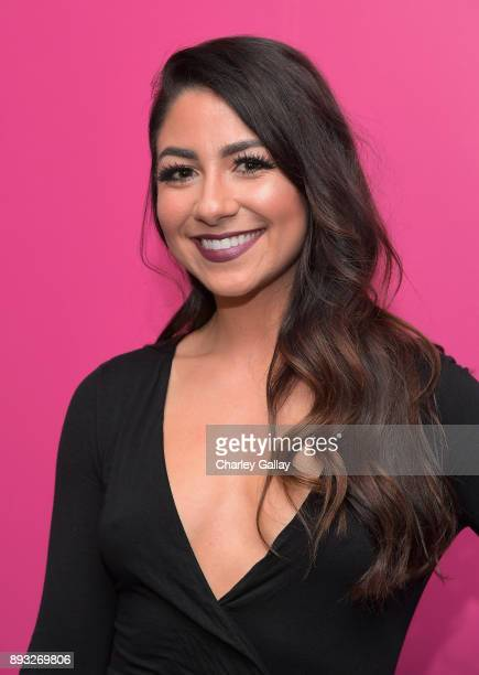 NYX Marketing and PR Manager Ani Istanboulian at the NYX Professional Makeup and Samsung VR Launch Party at Beauty Essex on December 14 2017 in Los...