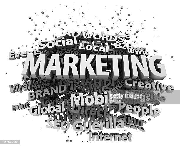 marketing concept - guerrilla warfare stock pictures, royalty-free photos & images