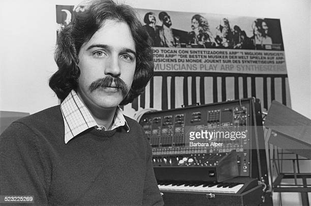 Marketing director of ARP Instruments Inc Bob Hoffman Newton Massachusetts USA 14th November 1977