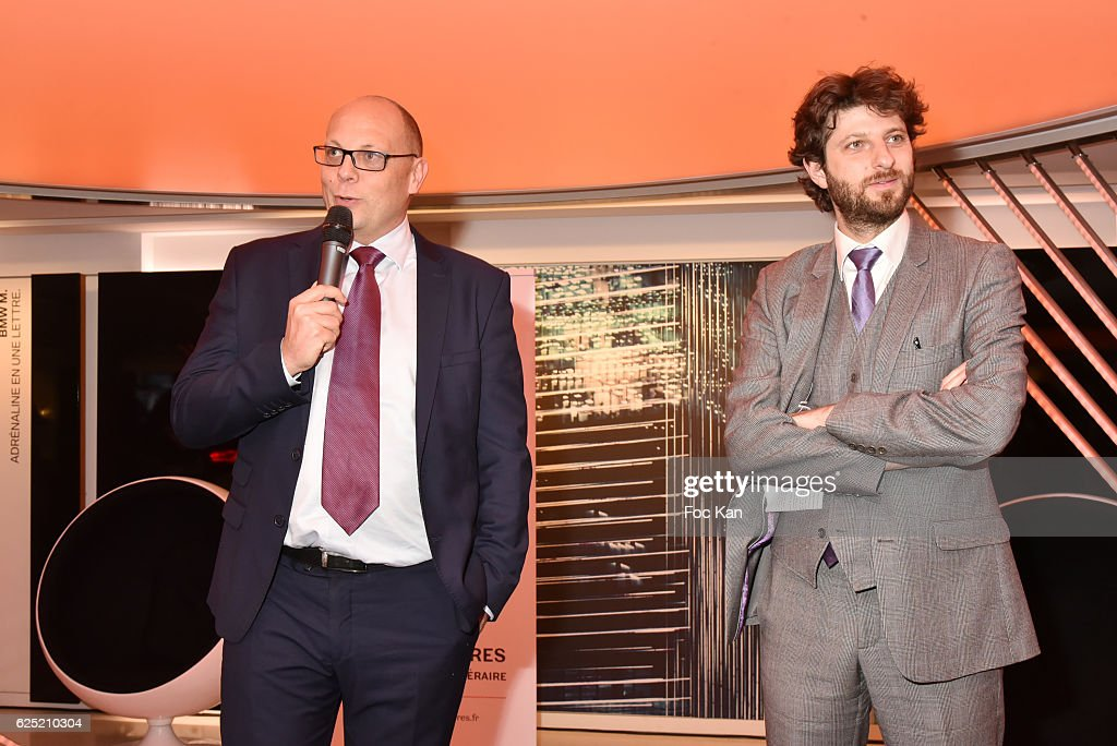 BMW marketing Director Pierre Jalady and Prix du Style