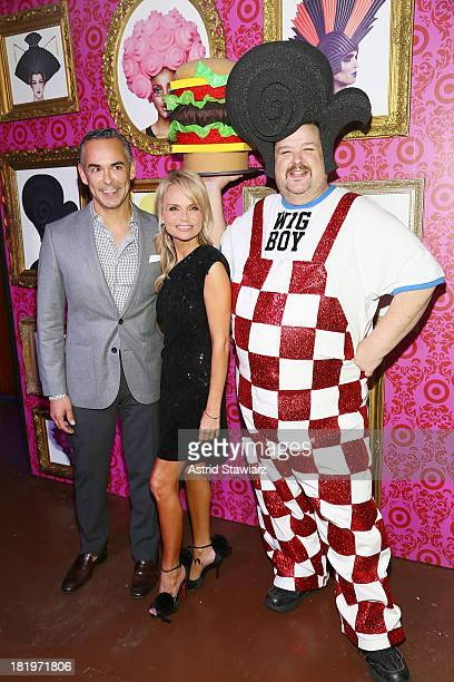Marketing for Target Rick Gomez actress Kristin Chenoweth and designer Chris March attend Chris March for Target Launch Event at The Angel Orensanz...