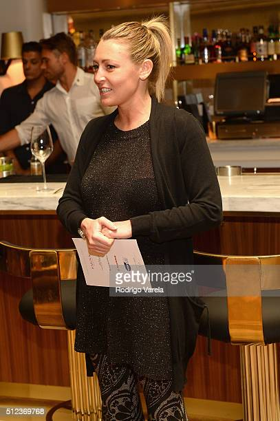 Marketing Manager for Marchesi di Barolo Wines Valentina Abbona attends a Dinner Hosted By Francis Mallmann And Paul Qui during 2016 Food Network...