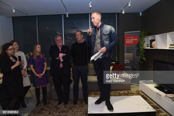 Marketing Manager of Calligaris Corey Washburn EditorIn Chief of Hearst Design Group Newell Turner Founding Chair James Huniford and SVP of Housing...