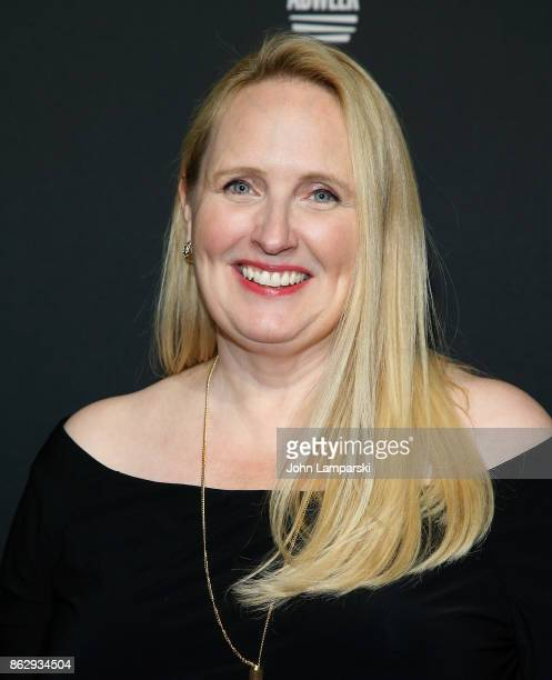 Marketing Officer at Marriott International Karin Timpone attends 28th Annual Adweek Brand Genius Gala at Cipriani 25 Broadway on October 18 2017 in...