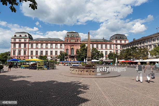 marketplace, darmstadt - darmstadt stock pictures, royalty-free photos & images