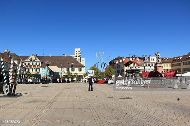 Marketplace en Ludwigsburg-Feria de venecia