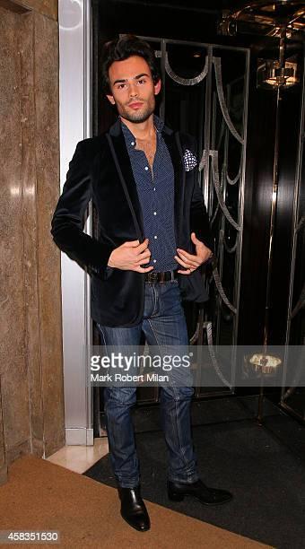MarkFrancis Vandelli at Claridges Hotel on November 3 2014 in London England