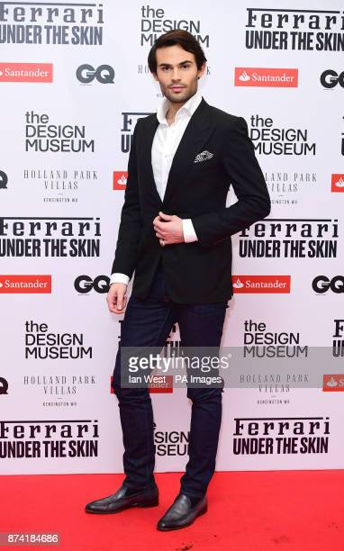 MarkFrancis Vandelli attends a private view of Ferrari Under the Skin at The Design Museum London