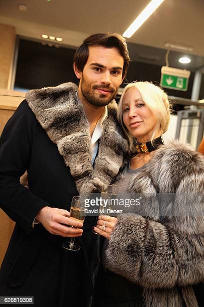 MarkFrancis Vandelli attends an evening of Fashion Meets Art at the Ghost store Chelsea on November 29 2016 in London England
