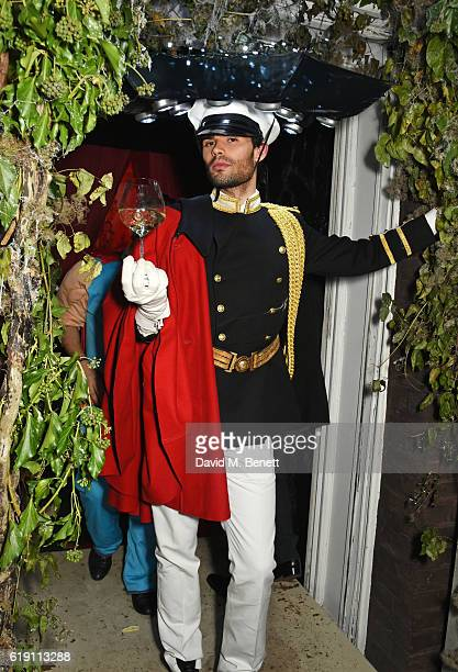 MarkFrancis Vandelli attends Halloween at Annabel's at 46 Berkeley Square on October 29 2016 in London England