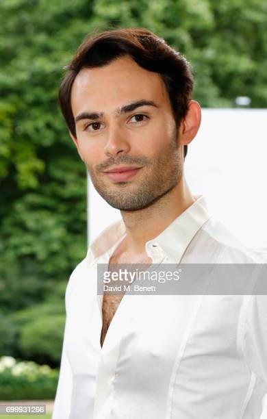 MarkFrancis Vandelli attends Kate Moss Mario Sorrenti launch of the OBSESSED Calvin Klein fragrance launch at Spencer House on June 22 2017 in London...