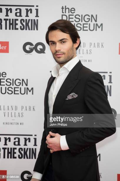 MarkFrancis Vandelli attends the Ferrari X The Design Museum event held at The Design Museum on November 14 2017 in London England