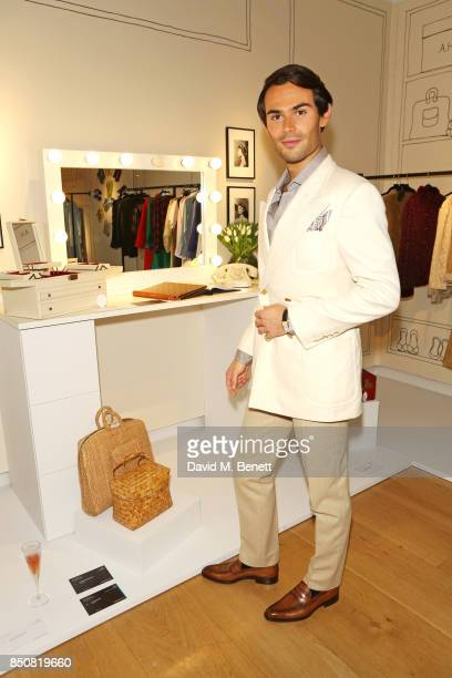 MarkFrancis Vandelli attends the opening reception for 'Audrey Hepburn The Personal Collection' at Christie's on September 21 2017 in London England