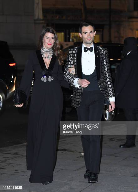 Mark-Francis Vandelli attends the Portrait Gala 2019 at National Portrait Gallery on March 12, 2019 in London, England.