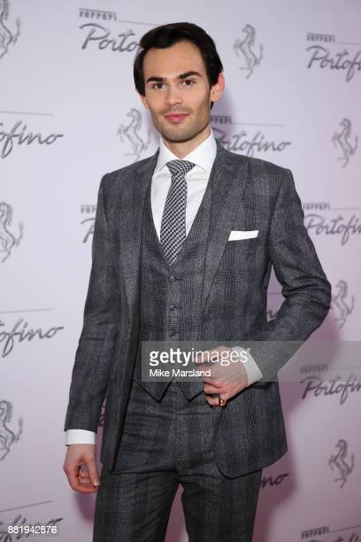 MarkFrancis Vandelli attends the UK launch event for the new Ferrari Portofino at Kensington Olympia on November 29 2017 in London England