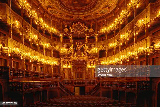 Markgraefliches Opera House, Bayreuth, Bavaria, Germany
