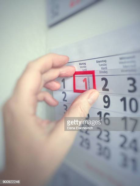 Marking a date on the calender