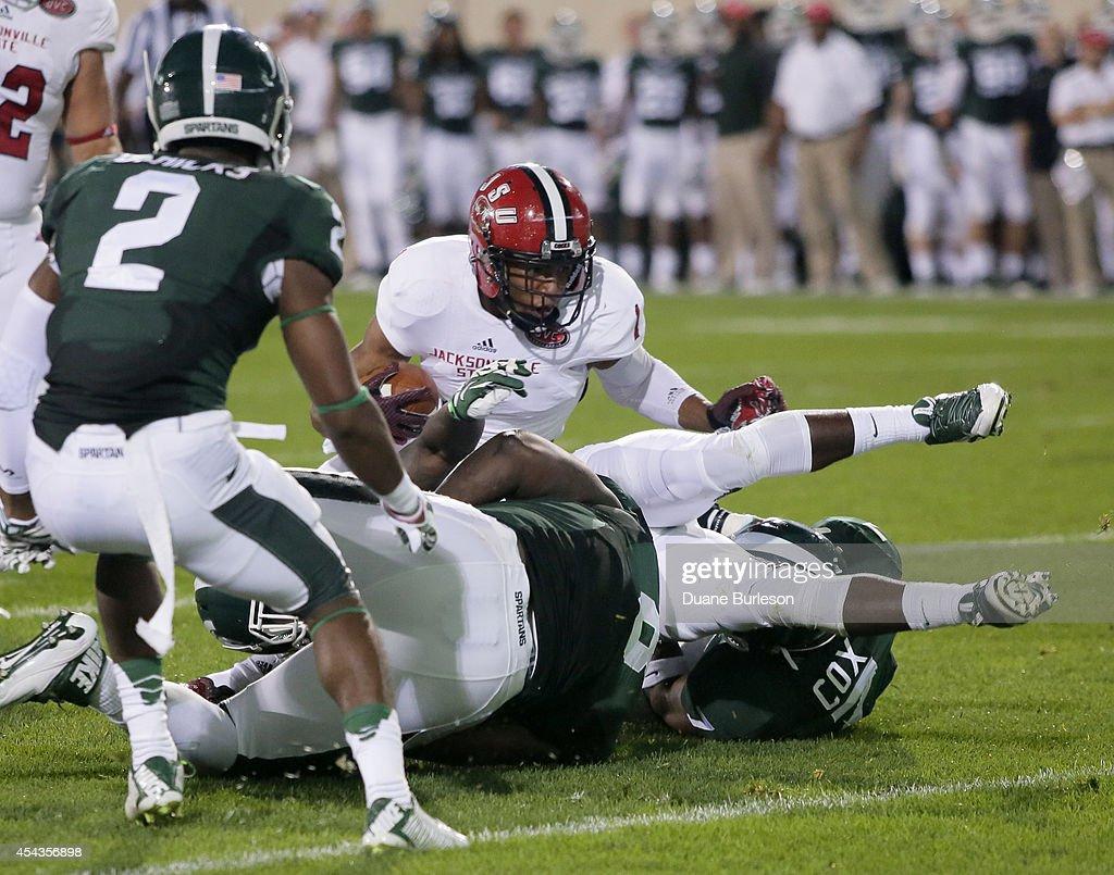 Jacksonville State v Michigan State : News Photo